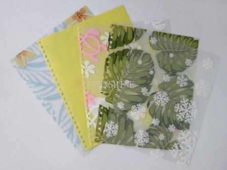 plastic PP notebook exercise book cover