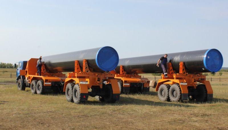 Pipes for main gas pipeline 1420x21,6 welded length of 11.7 meters, the price is $ 1500