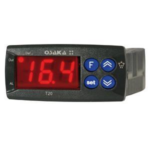 Termostato Digital Basic para Refrigeración: http://osakasolutions.com/productos-equipos-electronicos/reguladores-refrigeracion/linea-t/t-20-t-20-p/