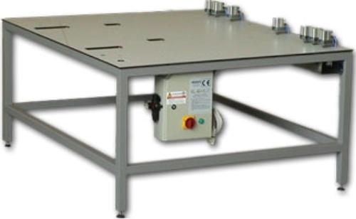 Pneumatic plate punch.