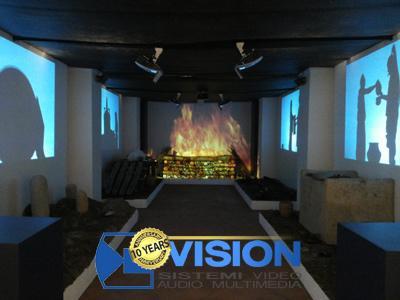 Progettiamo impianti di videoproiezione per ogni ambiente