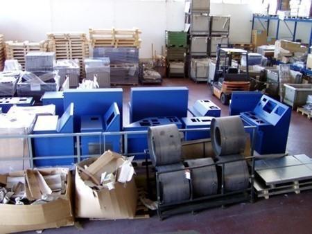 carpenteria, produzione e verniciatura