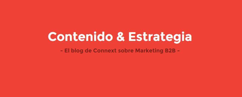 Visita nuestro blog sobre marketing B2B e Inbound Marketing: http://blog.connext.es/