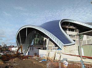 Stahlbau Musik Center / Gateshead