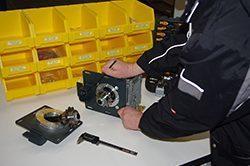 Reparatur von Geräten/Maschinen