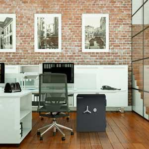 Protect your valuables and documents from both fire and theft in your office or retail environment