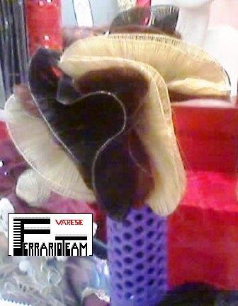 Tessitura di capelli per extensions con clips.