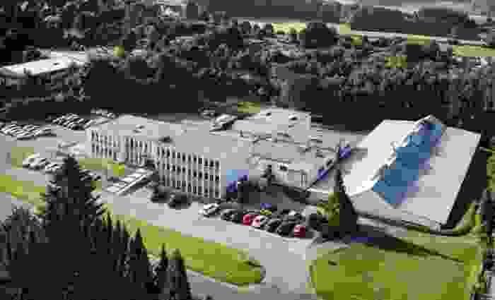 Firmengebäude Heute + Co.