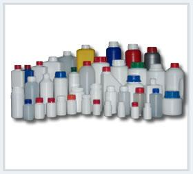 HDPE plastic bottles from 50 ml.up to 3 lt. in different shapes for many sectors such as;  Agriculture chemicals  Industrial chemicals  Household  Personel care  Animal health