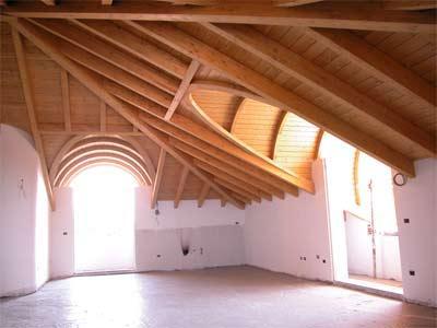 Montagnoli Evio Srl coperture in legno