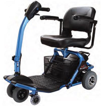 Excelente opción para personas con movilidad reducida con amplio espacio para las piernas y facilidad a la hora de maniobrar.