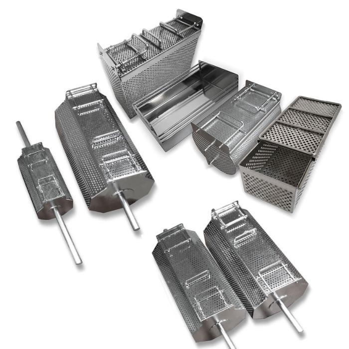 Perforated Stainless Steel Baskets