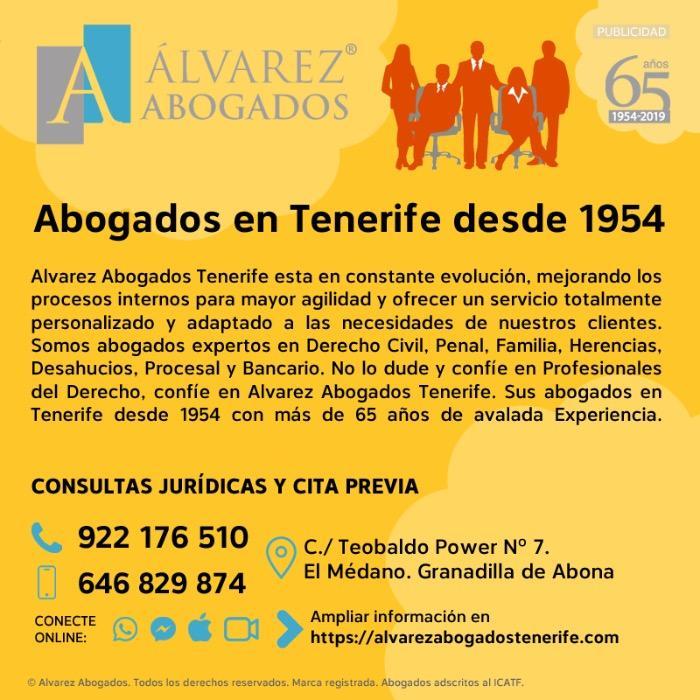 Abogados en Tenerife desde 1954