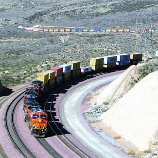 International transport and logistics of railway traffic.
