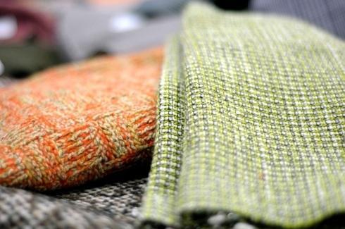 Tessuti a stock lino