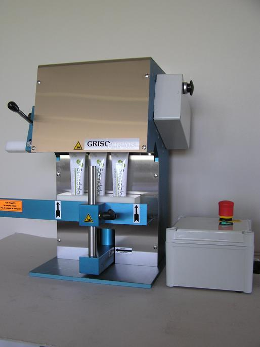 Grisotub MS (metall tube closing machine)