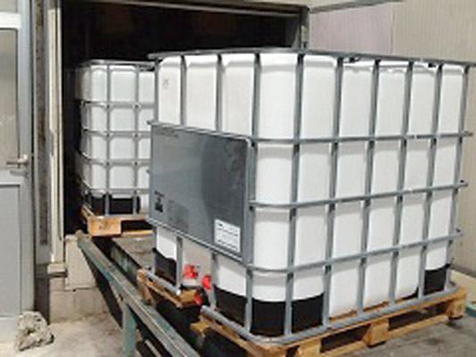 Riciclaggio cisterne in plastica