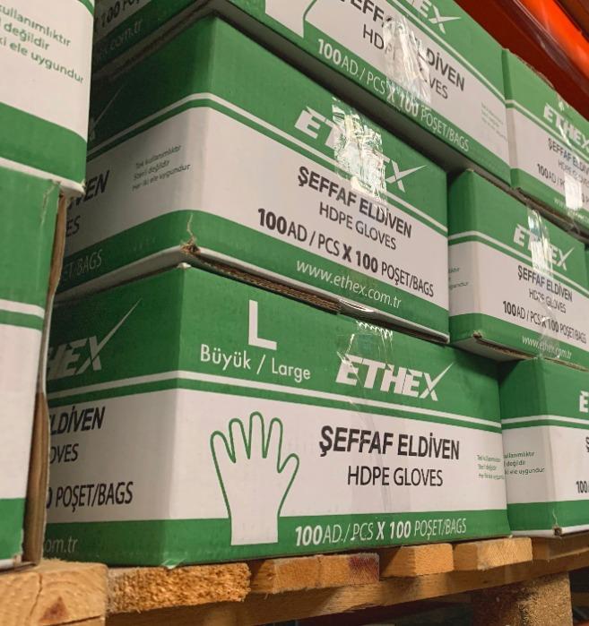 ETHEX - HDPE Gloves