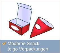 Snack to go Verpackungen