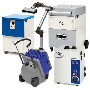 Absaug- und Filtergeräte für die Elektronikindustrie