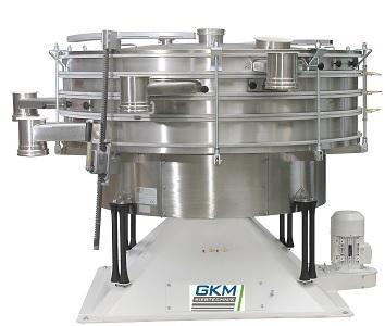 Diese GKM Siebmaschine KTS ist die perfekte Lösung für die exakte Trennung von trockenen, staubförmigen, pulverförmigen oder körnigen Produkten.