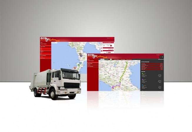 sistema di monitoraggio dei mezzi e di intere flotte aziendali, basato sull'utilizzo della tecnologia GPS .