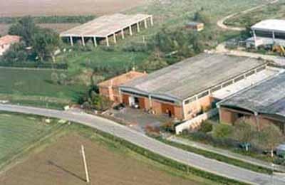 Veduta aerea dell'azienda Ventura Giorgio