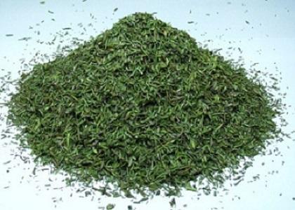 Granulation - 0,5<X<4,0mm – min. 90,0%, Moisture - Max 10%, Volatile oil content - Min 1,9%, Content of ash - Max 12.0%, Content of ash insoluble in 10% HCL - Max 5.0%