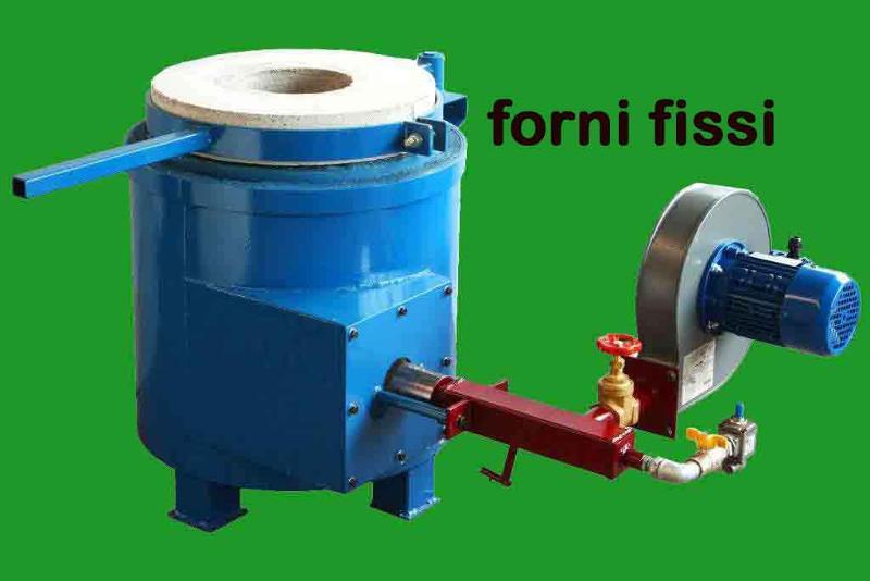 Melting furnaces for bronze aluminium