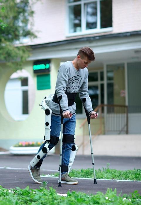 Companion exoskeleton test