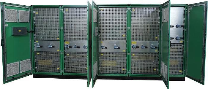 Highly customized 2x80 kVA industrial UPS