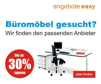Wir finden für Sie die passenden Anbieter für Büromöbel.
