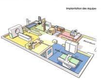 Plan d'aménagement et construction d'un centre d'imagerie médicale neuf