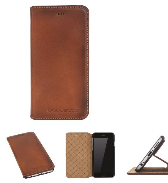 Book Klug cow leather phone case