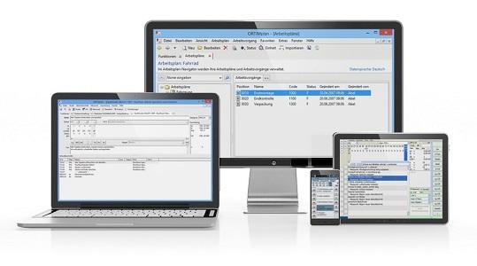 Hier sehen Sie unsere Software für Zeitstudien (ORTIMzeit) für Arbeitsplanung (ORTIMplan) & zur mobilen Zeiterfassung mittels Smartphone und Tablet.