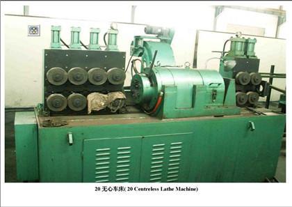 20 Centreless Grinding Machine