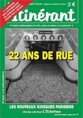 L'Itinérant, journal hebdomadaire produit et édité par la société de presse Com'Sol