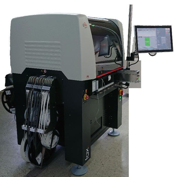 Eingabe Bestückungsautomat