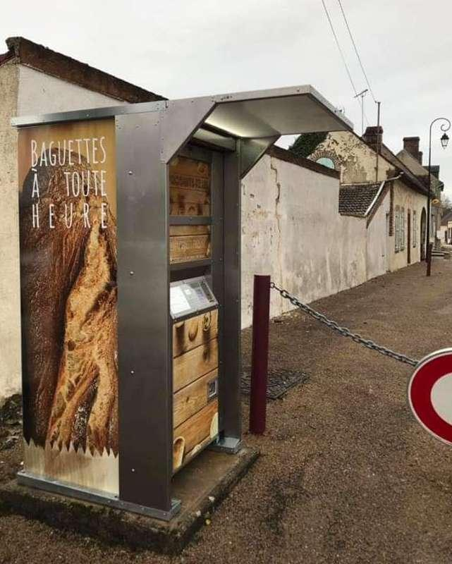 Distributeur Automatique de Baguettes et Viennoiseries DISTRI1420®