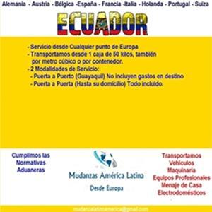 Moving Transport to Ecuador