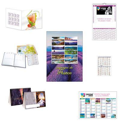 calendrier personnalisable CPCOM Europe