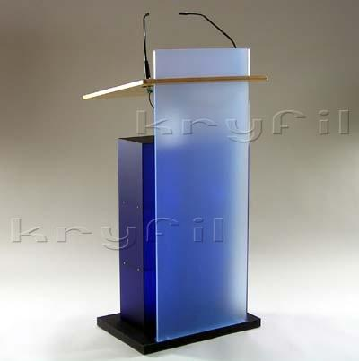 High quality and full equiped acrylic lecterns