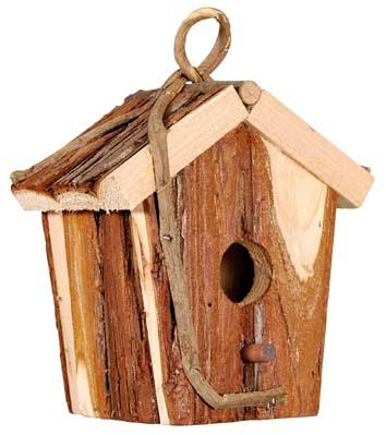 full assortment of bird, butterfly and ladybird houses