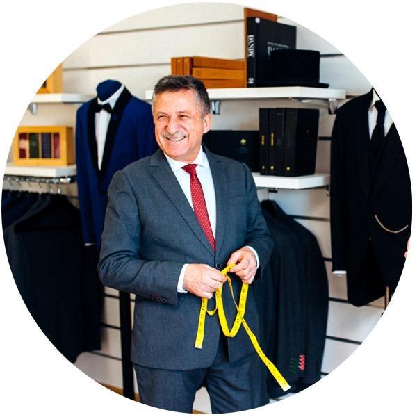 Master tailor Anghel Constantin