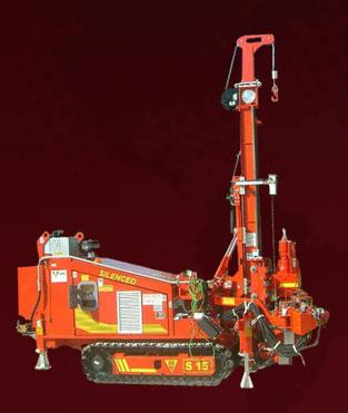 HYDRAULIC CRAWLER DRILLING