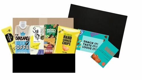 SnackBox, Lebensmittel SnackBox