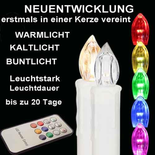RGB Control Christmas Tree LED Candle