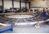 Stahlbaufertigung