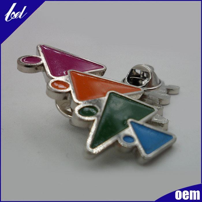 Enamel tree metal badge