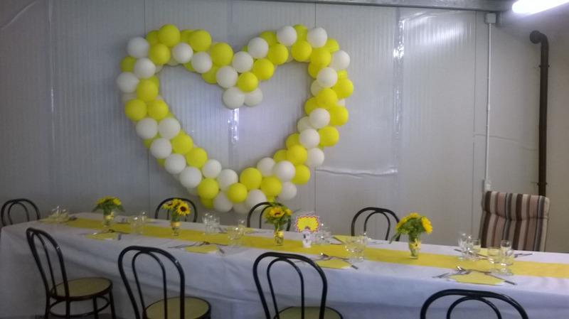 Rontini Luigi - Manifatture Italiane Palloni a Gas palloncini bianchi e gialli